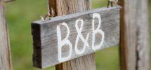 B & B ottaa vastaan majoittujat